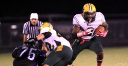 Alabama RB commit Derrick Henry. Had over 12000 yards rushing and 150 TDs in HS!