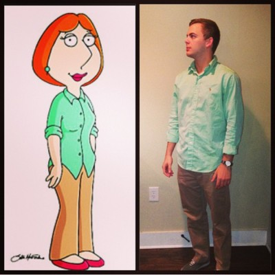 """Well one of us has to change….."" #louis #familyguy #accidentaltwins"
