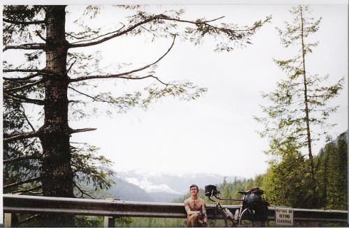livefreeordrive:  Poorly Orchestrated Self Timer Photo on Flickr. Mt. Baker, WA. 2009. The first week the road was snow free in the spring.