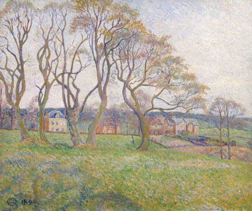 Lucien Pissarro's April, Epping, 1894