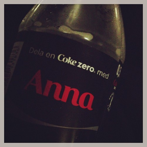 Oh coke zero, I love you too!! ❤❤❤ #cokezero #love #anna #awesome