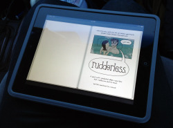 "adobe photoshop and illustrator. // ""rudderless"" mini-comic."