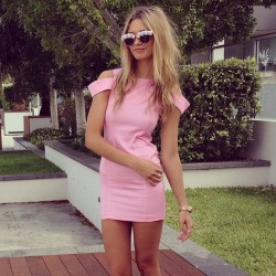 alelula:  r-o-s-yy:  saboskirt:  The amazing Blush Skyline Dress will be available today, stay tuned! #saboskirt   q'd - probably sleeping, eating or dying at school  ♡more here♡