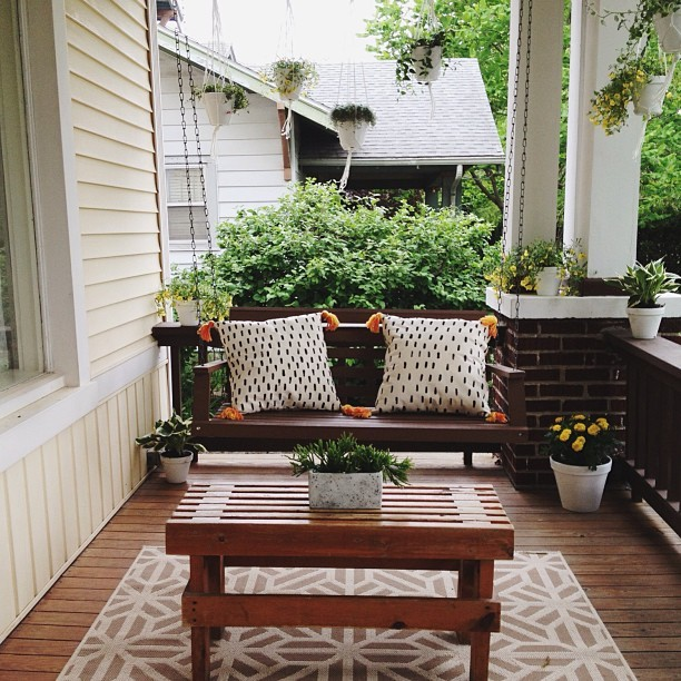 I'm jealous of your porch!