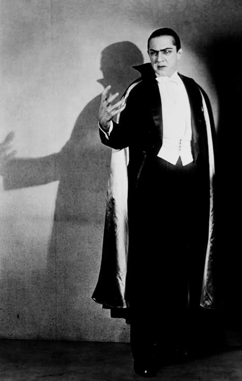 ronaldcmerchant:  Lugosi on stage as Dracula in 1928