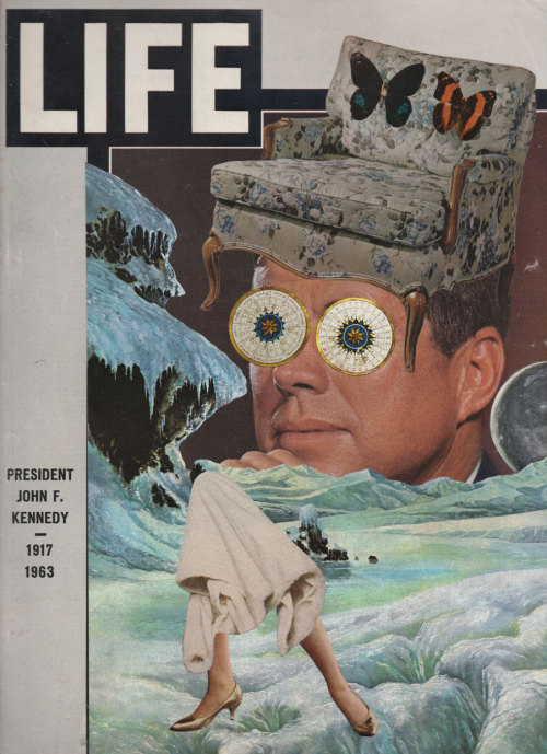The opposite of LIFE. The last daydream of JFK.