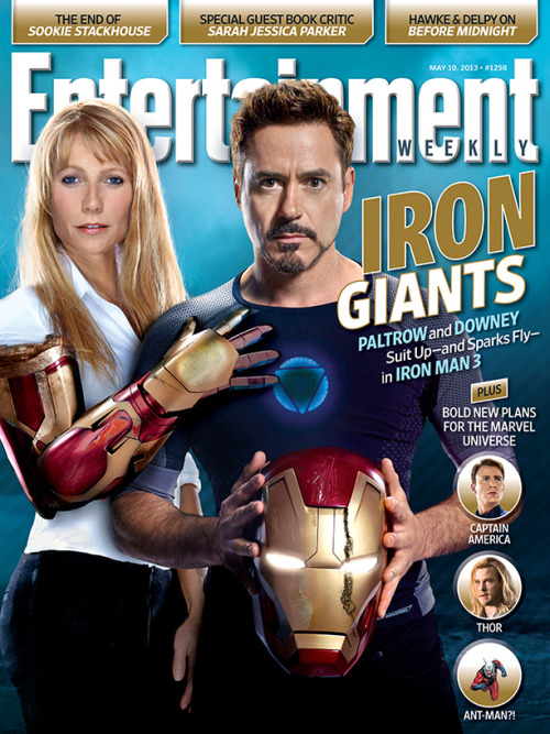 entertainmentweekly:  This week in EW, we explore a question that everyone who sees Iron Man 3 this weekend will be asking: Is this the end for Robert Downey Jr. as Tony Stark?