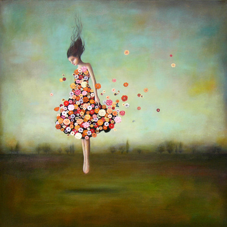 "Don't just stand up: Jump up. ""Boundlessness In Bloom"" by Duy Huynh."