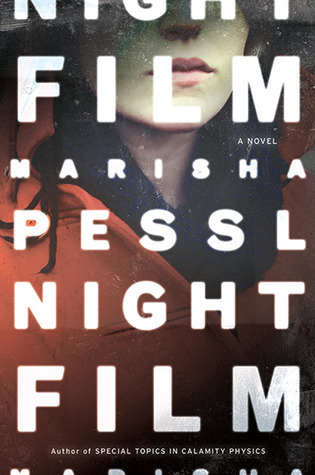 coverspy:  Night Film, Marisha Pessl (F, 30s, red hippie shirt, dark jeans, wild curly hair, eating a burger, Fabiane's) http://bit.ly/Xp2is2  Found a copy of this here, can't wait to start it.