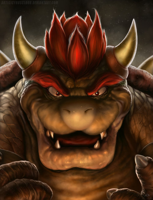 Deadly Realistic Illustration of 'Bowser The Koopa King' Artist James Mabe (aka Cyruscloud) unleashed one hell of a beast on the Mushroom Kingdom in his killer new illustration of Bowser. Prints are available to purchase online from Society6. Follow the artist: deviantART | Society6 via: gamefreaksnz