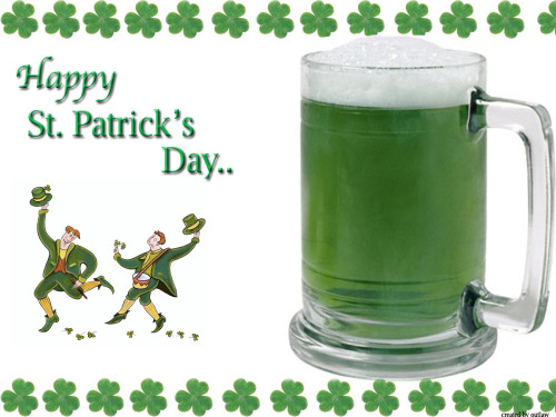 St Patrick's day is very soon!Green beer ! Remember to follow our blog and we will follow back.ÉireBoys