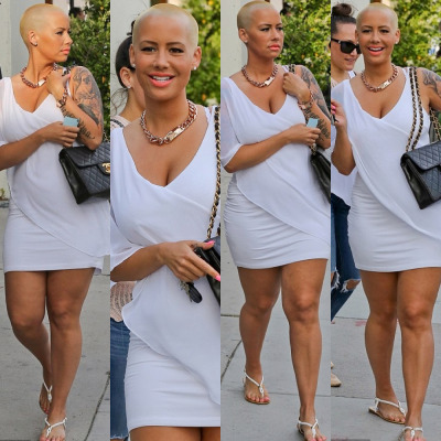 Amber Rose out in L.A. on Thursday…
