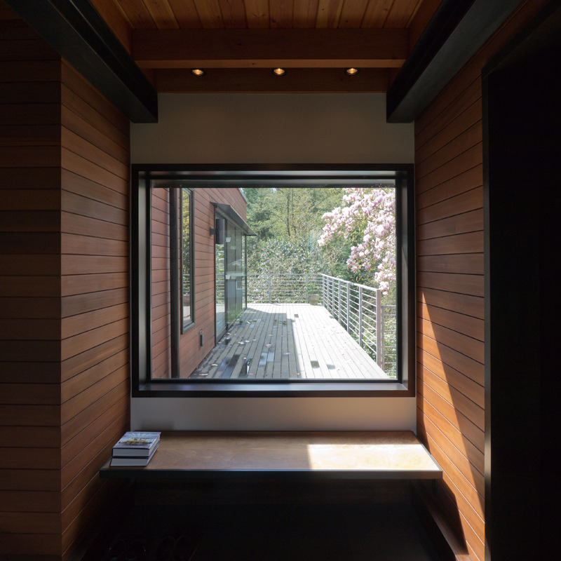 wabi treehouse | entry foyer ~ erich remash architect