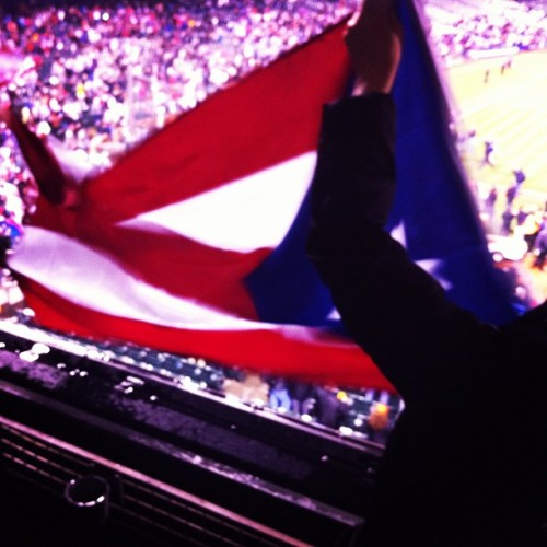 Pride #wbc #puertorico #attpark #flag (at World Baseball Classic @ AT&T Park)