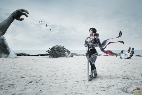 Fresh Cosplay! Fiora from League of Legends  Cosplayer: Yaya Han [WW / TM / TW / dA]Photographer: Elysiam Entertainment [WW | FB]