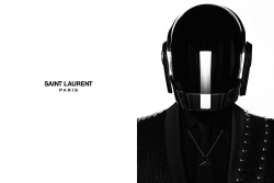 oystermag:  Saint Laurent x Daft Punk