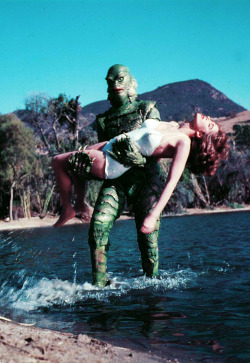 vintagegal:  Creature from the Black Lagoon (1954)