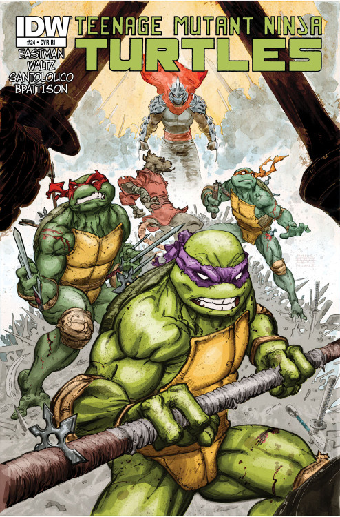comicsodissey:  Teenage Mutant Ninja Turtles #24