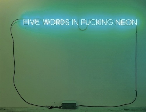 markmcevoy:  Five words