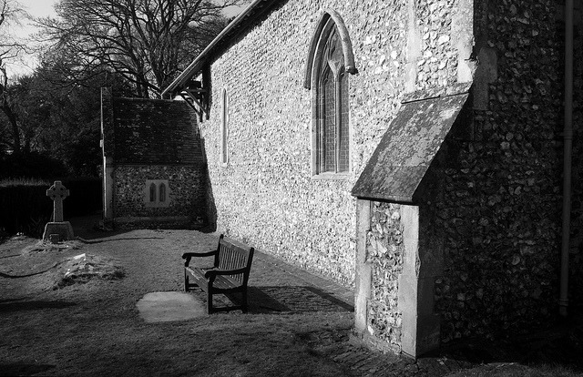 Come rest awhile on Flickr.St Botolph's in Swyncombe, Oxfordshire dates back to the 11th Century - now that's old!