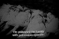 photography Black and White creepy horror b&w Macabre poison terror serial killer potassium cyanide