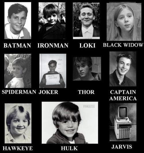 missywriter:  Before they were heroes…and villains