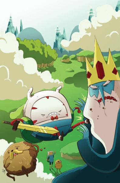 adventuretimehd:  Candy Capers #2 (Cover D) (Ian McGinty)