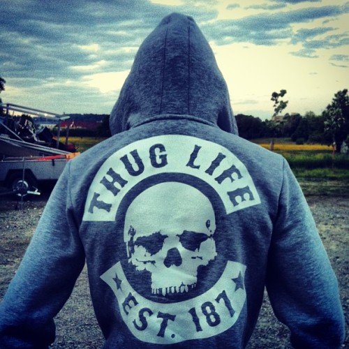 #ThugLife 💀❤ (hier: Raintown 8105)