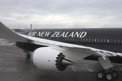 Nuevo Dreamliner B787-9 de Air New Zealand (All Black)