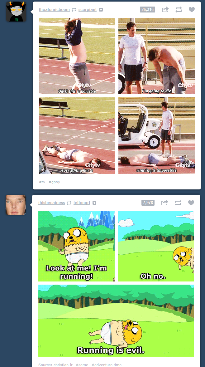 are you trying to tell me something, tumblr?