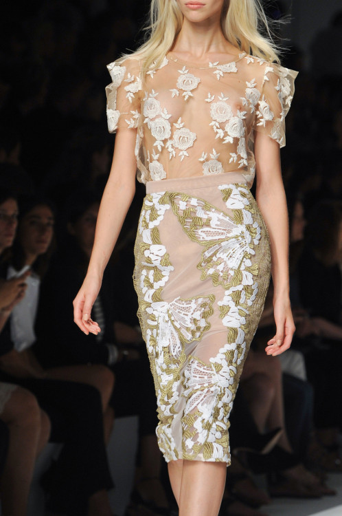 whore-for-couture:  mulberry-cookies:  Blumarine S/S 2014 (details)  Ha