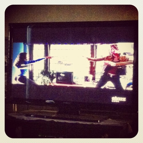 Watching kill bill with my lil sister 2nd time watching it today #youjealousyet@joe_maurizi