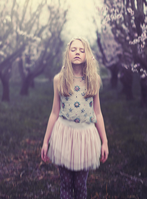 Cherry Blossom Girl by Juliet is Summer on Flickr.