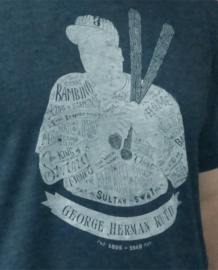 Awesome t-shirt design from my favorite new brand, Baseballism