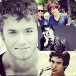 #ManCandyMonday YES PLEASE!!! #gorgeous #harry #zac #ian #jeremy #yummy #men #hotties