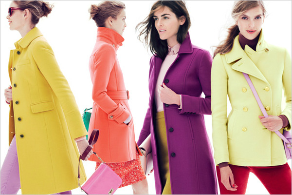 bright outerwear