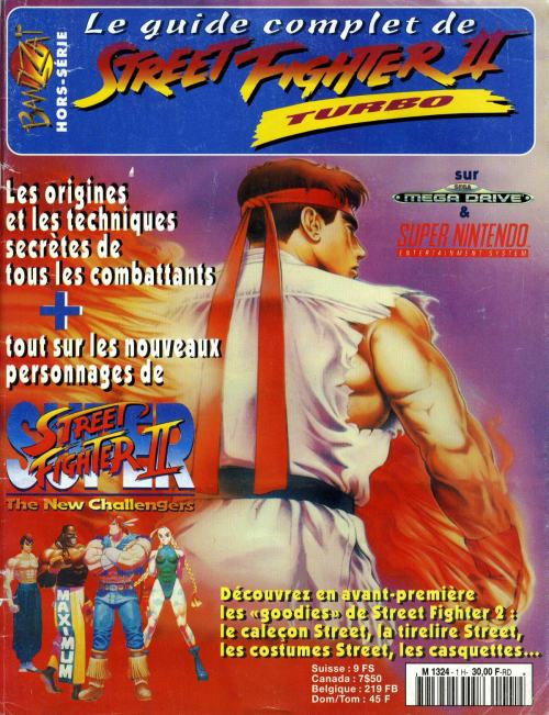 Le Guide Complet de Street Fighter II Turbo.