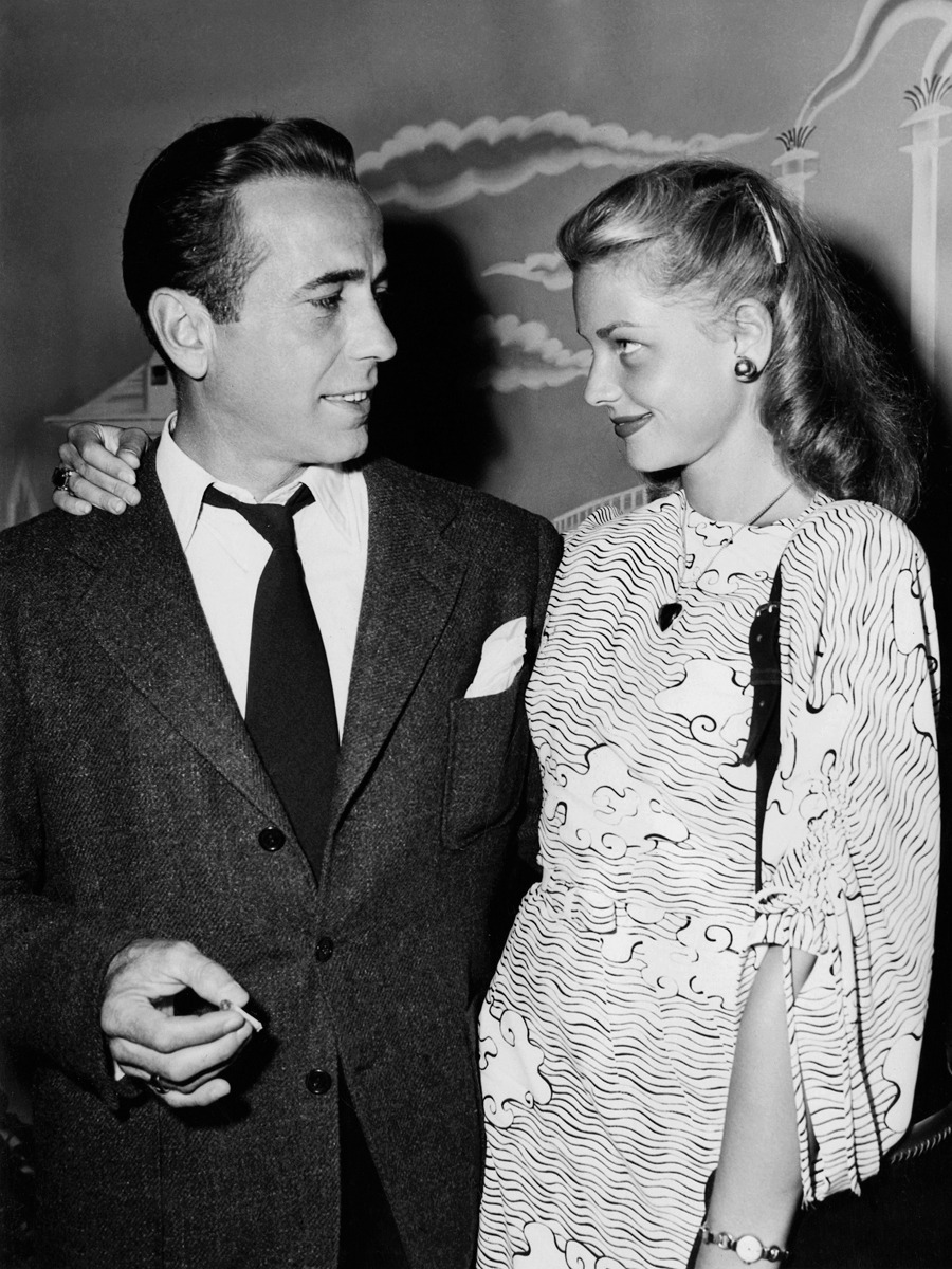 20th-century-man:  Humphrey Bogart, Lauren Bacall.