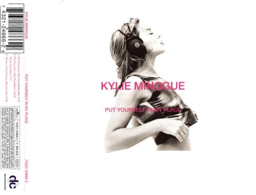Kylie Minogue - Put Yourself In My Place CD1released: 1996 #kylie minogue#kylie#1996 #puf yourself in my place #cd#cd single#pop#australia