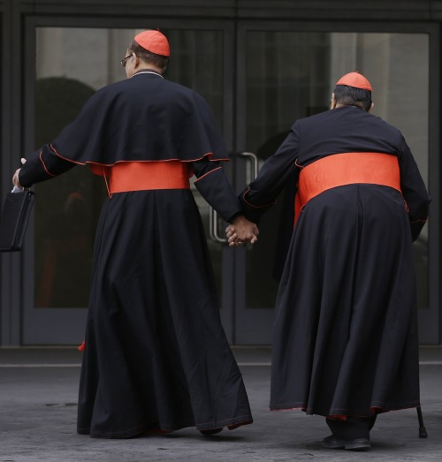 "MEN OF NO CLOTH: Catholic Church Owns Share of Europe's Biggest Gay Sauna. Read this report here: ""The sauna's website promotes one of its special 'bear nights,' with a video in which a rotund, hairy man strips down before changing into a priest's outfit."""