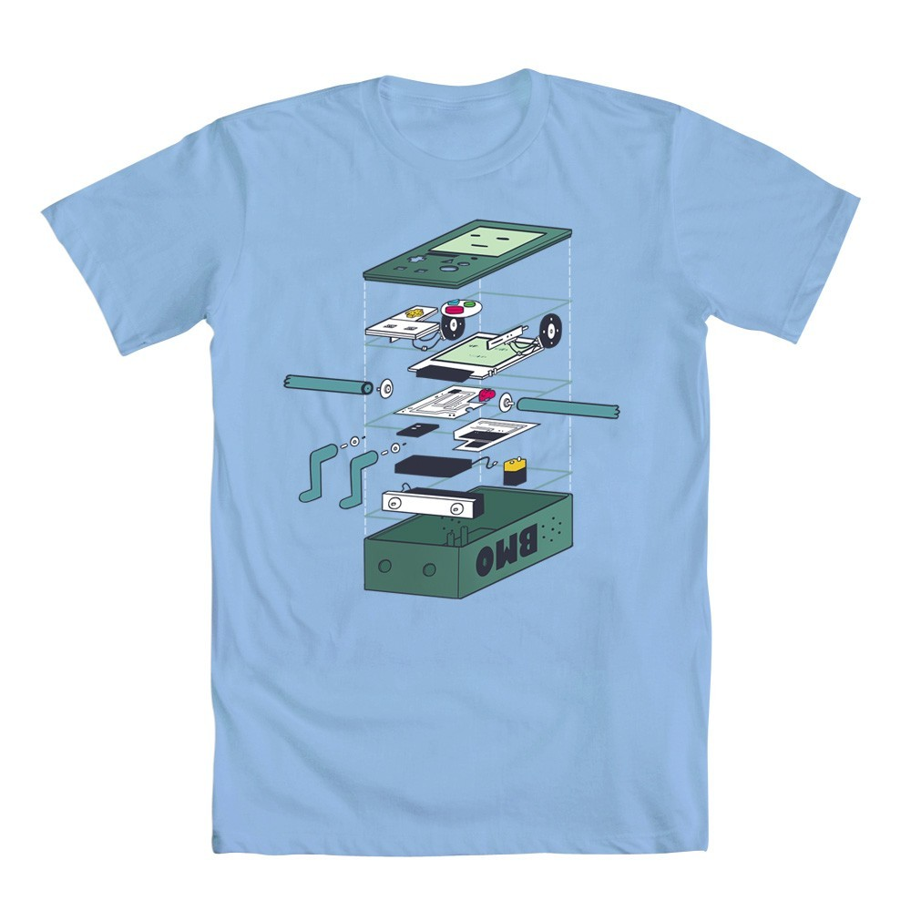 "25% off BMO's innards. You heard right. welovefineshirts:  This weekend we continue our 2012 Contest Winner Daily Deals - and it's Adventure Time!!! Today get the grand prize winner ""BMO Innards"" for men for 25% OFF!: Who else is loving the new episodes of Adventure Time? What's your favorite episode this season so far?"