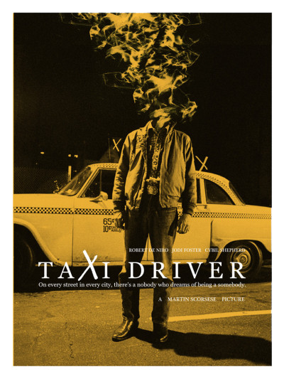 fuckyeahmovieposters:  Taxi Driver by Adam Juresko  One of my favorites.