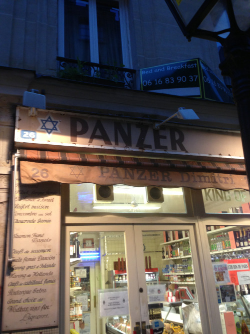 Strange name for a Jewish deli …