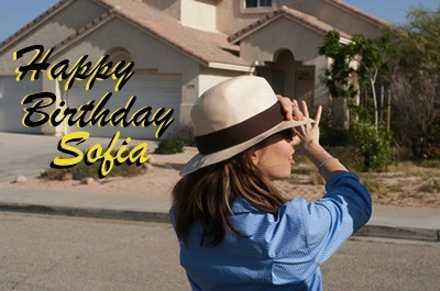 Today is Sofia's 42nd! We ♥ her a lot!