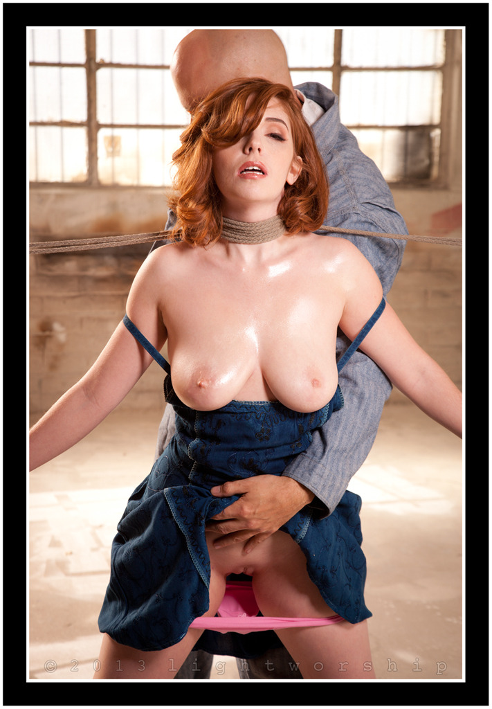 Ginger Sparks for Hustler's Taboo Magazine-©2013 LIGHTWORSHIP