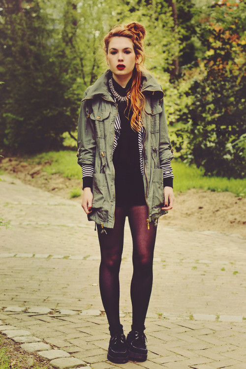 lookbookdotnu:  We were never built to last (by Silvy J.)