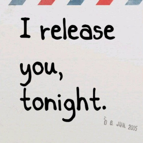"theamethyststar:  ""I #ReleaseYou, tonight."" -#MeganandLiz #JuneFourth #Lyrics"