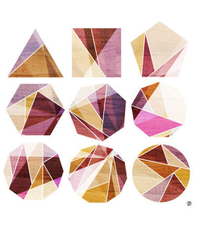 Wonderful prism shapes (and color palette) via visualgraphic:  Transitions