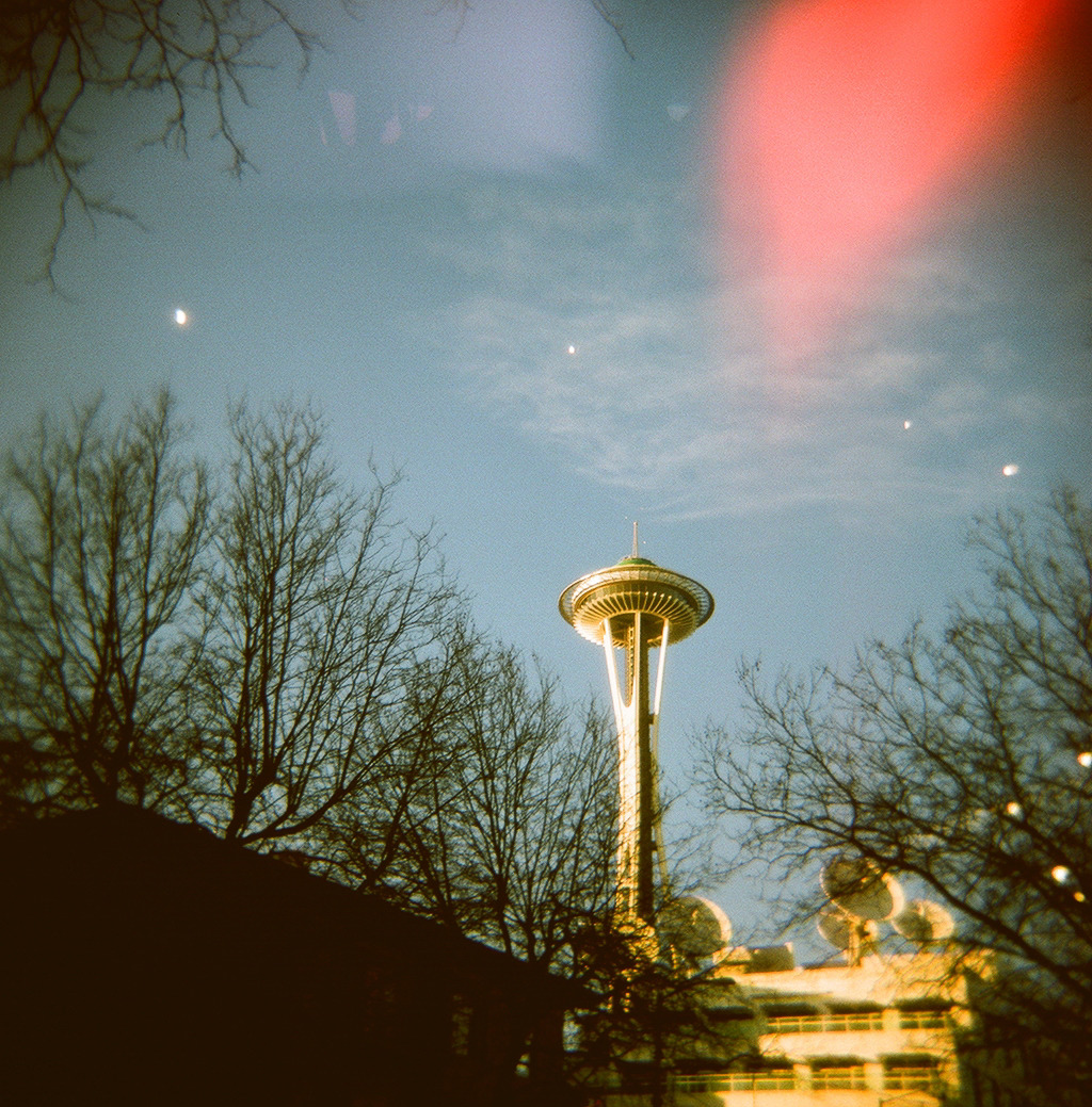 """Space Needle"" Holga 120N"