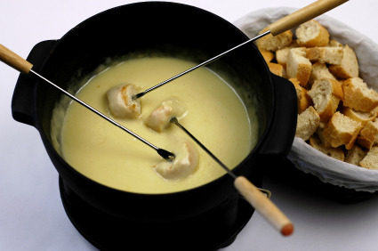 Today is the day! We're throwing the world's largest fondue party at 70 locations across the country, 2-6pm. Details here. If you're in NYC come to the Bleecker or Grand Central store to get a forkful of melted cheese and a temporary tattoo. oh, ps - NO DRUNK SANTAS ALLOWED.  Use #FondueNation on all the things so we can say hi!